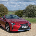 Lexus LC500 Convertible review: The convertible king