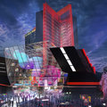 Atari Hotels concept looks like Cyberpunk 2077 in real life