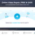 Wondershare Repairit Online is a free video repair service - try it now!