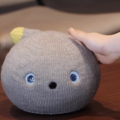 Panasonic's robot sock cat talks, farts, and looks absolutely adorable