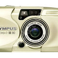 Olympus Mju III - 80 35mm camera review