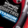 Wilkinson Sword Quattro Titanium Precision razor review