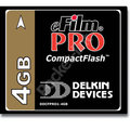 Delkin launch 2Gb and 4Gb Compact Flash Card