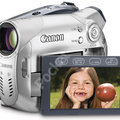 Canon launch entry level DC100 DVD camcorder