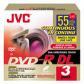 JVC launches two sizes of dual-layer DVDs