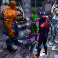 Marvel comic book heroes to battle evil in videogame