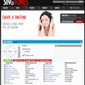 Singtones creates a ringtone from your voice