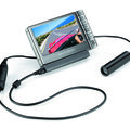 Helmet Camcorder records to Archos portable media players