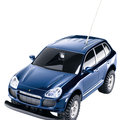 Tchibo sells limited-edition Porsche Cayenne model with on-board camera