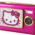 Sparkly Tink Pink Hello Kitty cam