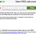 Gizmo Call lets you make calls through your browser