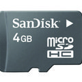 SanDisk previews 4GB SDHC card for mobile phones