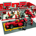 Lego go Ferrari mad with new models for new season