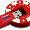Memorex launch USB poker chip for gambling fans