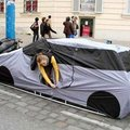 A car tent for urban camping?