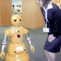 Japanese temp agency hires out robo-receptionists