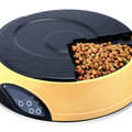 Automatic pet feeder bowl can record your voice