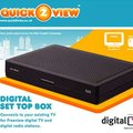 Alba QUICK2VIEW set-top box, cheap and easy Freeview