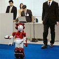 Hitachi shows off new office-bot