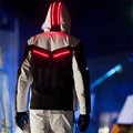 Solar light suit for the slopes