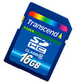 Transcend delivers 16GB memory card