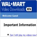 Wal-Mart closes movie service