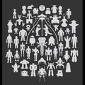 WeRobot t-shirt with 51 famous androids