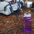 Outdoor solar light bottle cap launches