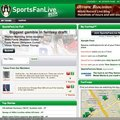 Beta launches of SportsFanLive social networking site