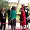The Queen visits Vodafone