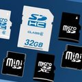 SDXC memory cards announced