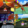 Crash Bandicoot races for the iPhone