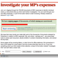 The Guardian looks to the cloud to uncover MP expenses