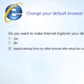 Microsoft change IE8 setup settings