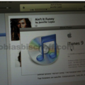 iTunes 9 screenshots surface. We call fake