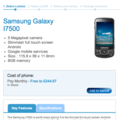 Samsung Galaxy i7500 hits O2 in UK