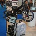 Gocycle BlackR electric bike demoed