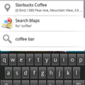 Google introduces quick search box for Android