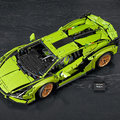The Lego Technic Lamborghini Sian is a faithful 4,000 piece reproduction of the epic supercar