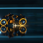 Tron: Legacy - photos, ladies and lightcycles - photo 21