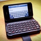 TypeTop Bluetooth Mini Keyboard Case for iPhone 4 hands-on - photo 1
