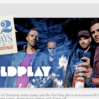 12 Days of iTunes starts with free Coldplay Album   - photo 1