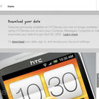 HTCSense.com alternatives: where to back-up and sync your Android next - photo 1