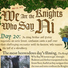 APP OF THE DAY: Monty Python The Holy Book of Days review (iPad) - photo 13