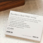 Harrods Swarovski BlackBerry Bold 9900 White pictures and hands-on - photo 6