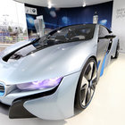 BMW i3 and i8 concept cars race into Olympic Park - photo 1