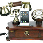 Pretend you're in Downton Abbey with the Pyle retro home telephone iPhone dock - photo 1
