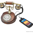Pretend you're in Downton Abbey with the Pyle retro home telephone iPhone dock - photo 3