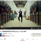 Psy's Gangnam Style officially breaks 1 billion views on YouTube - photo 2