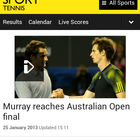 Video comes to BBC Sport app and mobile site, Android app still absent - photo 3